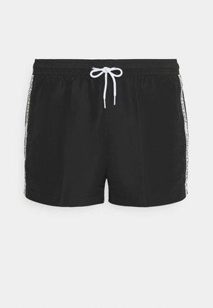 CORE LOGO TAPE DRAWSTRING - Plavky - black