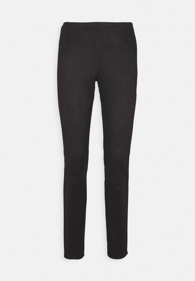 SHAMAR - Trousers - black