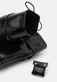 ALDO - SADIYA - Botas con cordones - black - 5