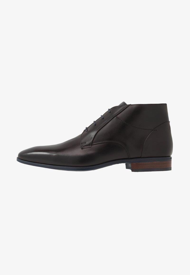 Giorgio 1958 - Elegantní šněrovací boty - scandicci/nero/marem