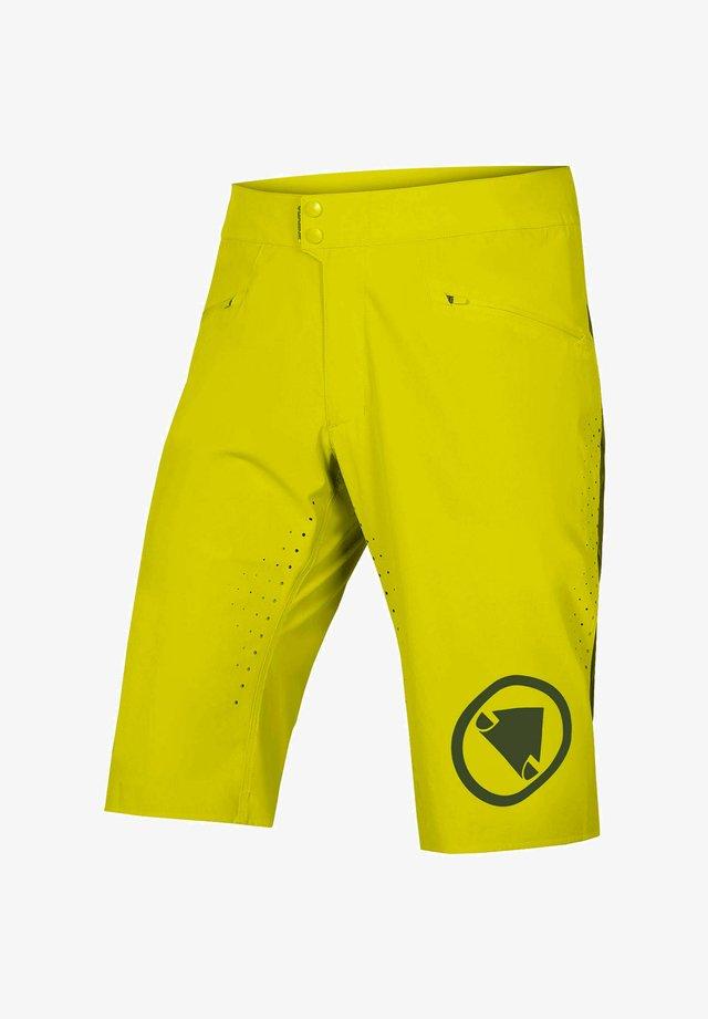 SINGLE TRACK LITE SHORT - Sports shorts - pinie