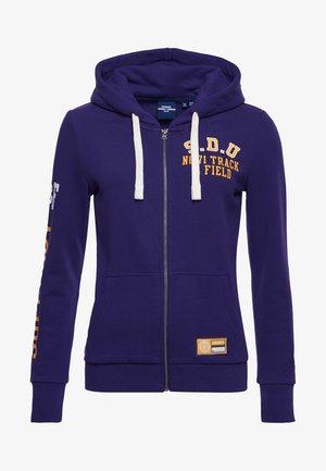 Zip-up sweatshirt - parachute purple