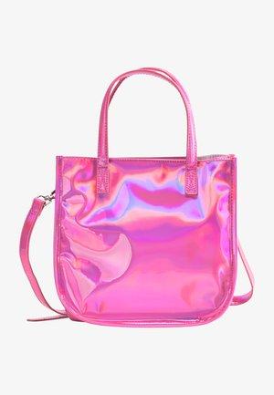Schoudertas - pink holo