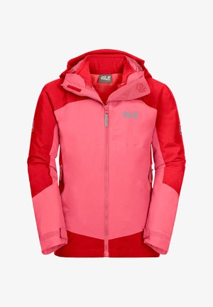 ROPI 3IN1 - Soft shell jacket - coral pink