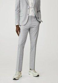 Mango - Suit trousers - gris moyen - 0
