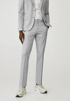 Pantalon de costume - gris moyen