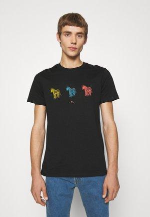 ZEBRAS - Print T-shirt - black