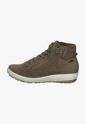 Sneakersy wysokie - beige/braun