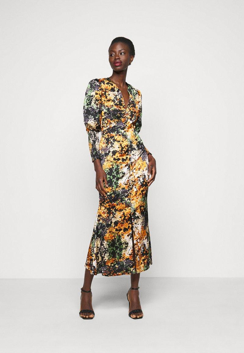 Never Fully Dressed Tall - BLOOM PRINT LINDOS DRESS - Robe d'été - navy/multi