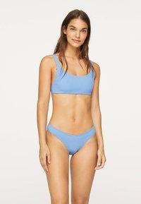 OYSHO - Bikiniöverdel - light blue - 1