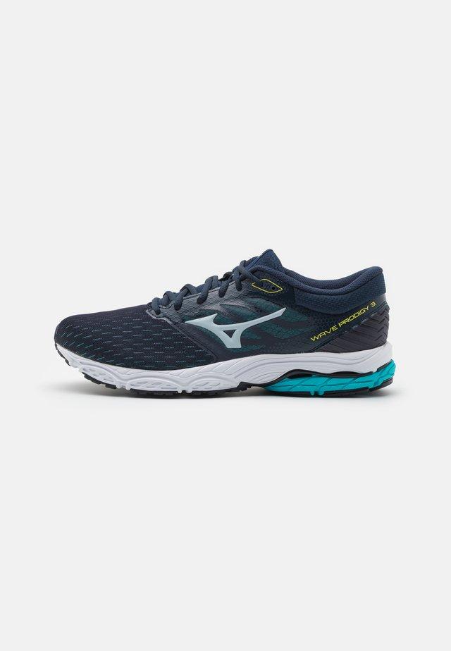 WAVE PRODIGY 3 - Chaussures de running neutres - ombre blue/illusion blue/scuba blue