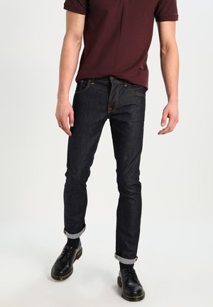 GRIM TIM - Slim fit jeans - raw denim