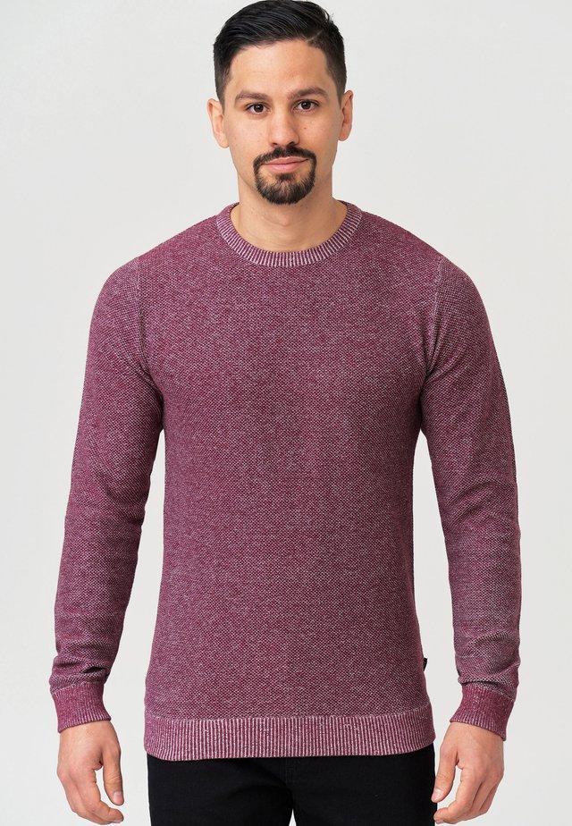 CRESPO - Pullover - zinfandel mix