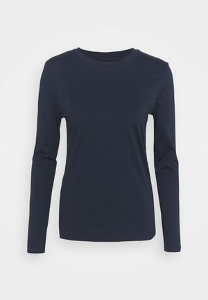 STRAIGHT CREW - Long sleeved top - dark blue