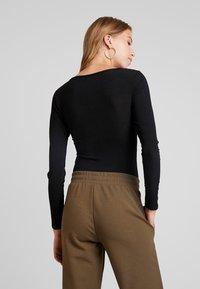 Glamorous - Long sleeved top - black - 2