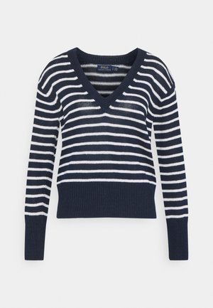Jumper - hunter navy/bone