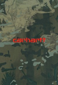 Carhartt WIP - DENBY REVERSIBLE JACKET - Summer jacket - camo combi/safety orange - 4