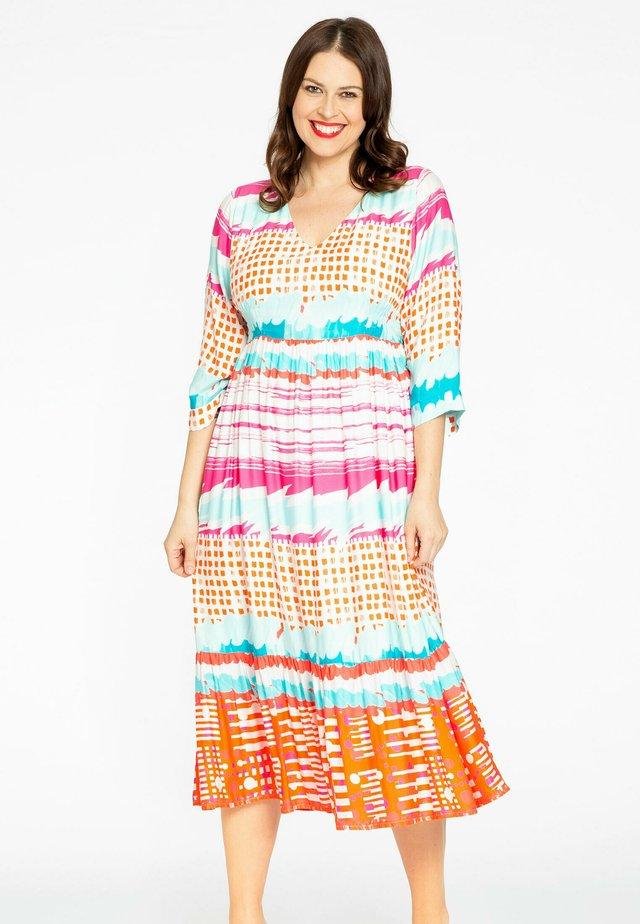 Korte jurk - multi