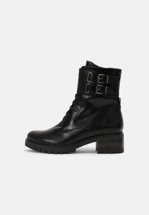 PERRY - Lace-up ankle boots - black