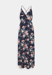 VILA PETITE - VIMESA WRAP DRESS - Maxi dress - navy blazer - 1