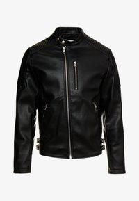 Jack & Jones - JCODERRICK  - Faux leather jacket - black - 5