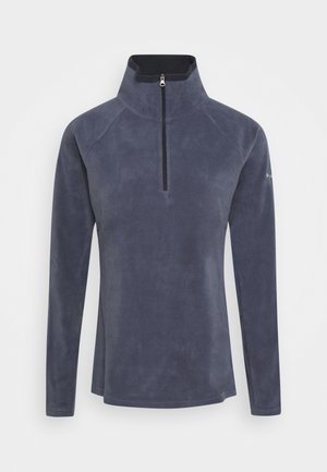 GLACIAL 1/2 ZIP - Fleece jumper - nocturnal