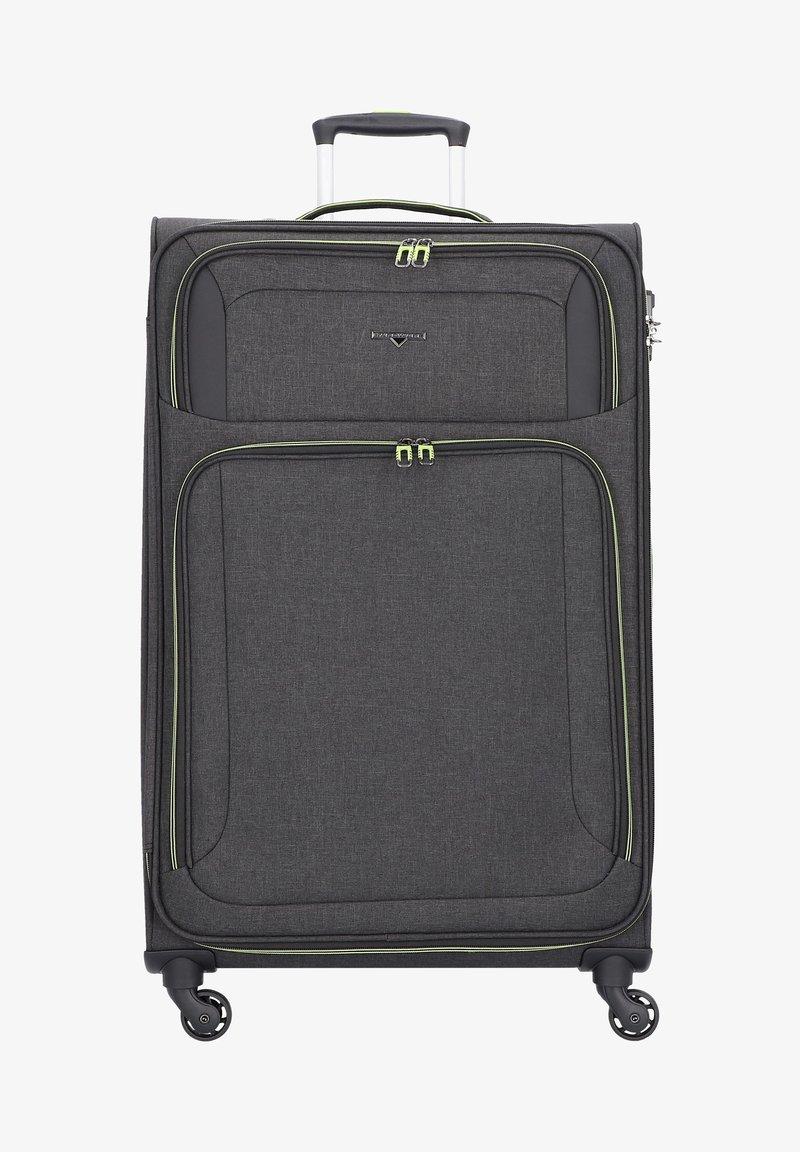 Hardware - AIRSTREAM - Wheeled suitcase - antracite / lemon