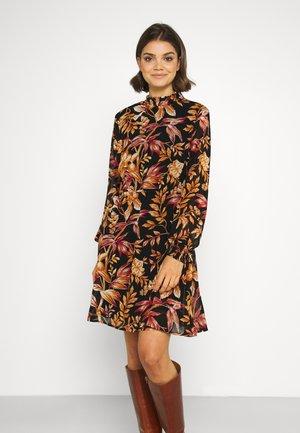 VIGLOWY HIGH NECK DRESS - Robe d'été - black