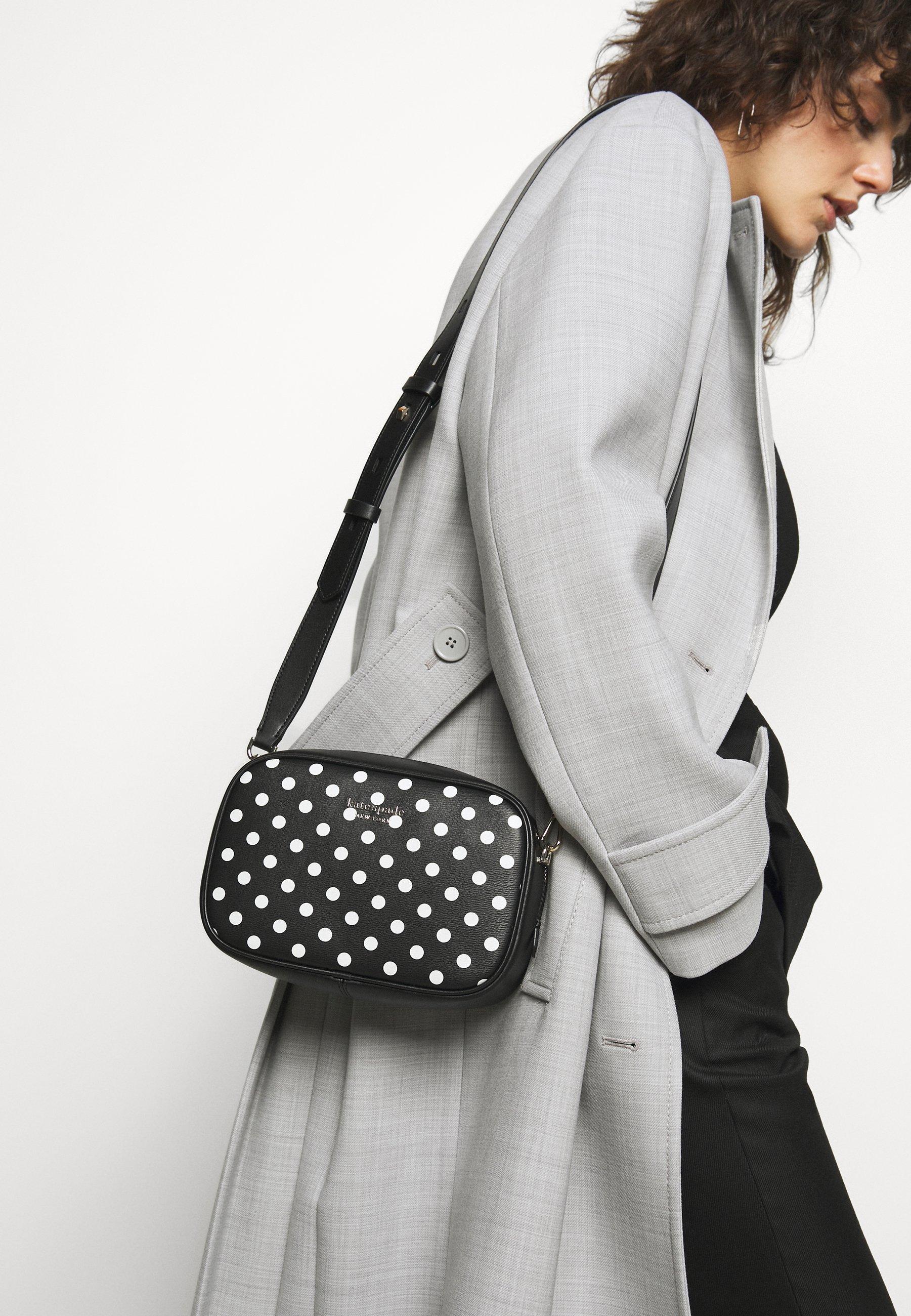 Women MEDIUM CAMERA BAG - Across body bag - black