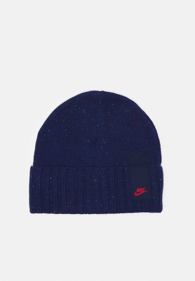 BEANIE CUFFED UNISEX - Bonnet - blue void
