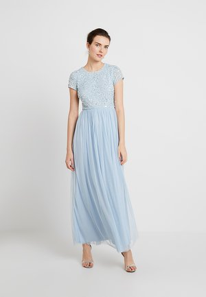 PICASSO CAP SLEEVE - Ballkleid - powder blue