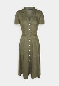 Polo Ralph Lauren - Sukienka koszulowa - basic olive - 0