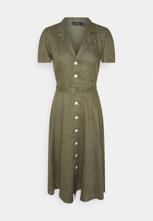 Shirt dress - basic olive