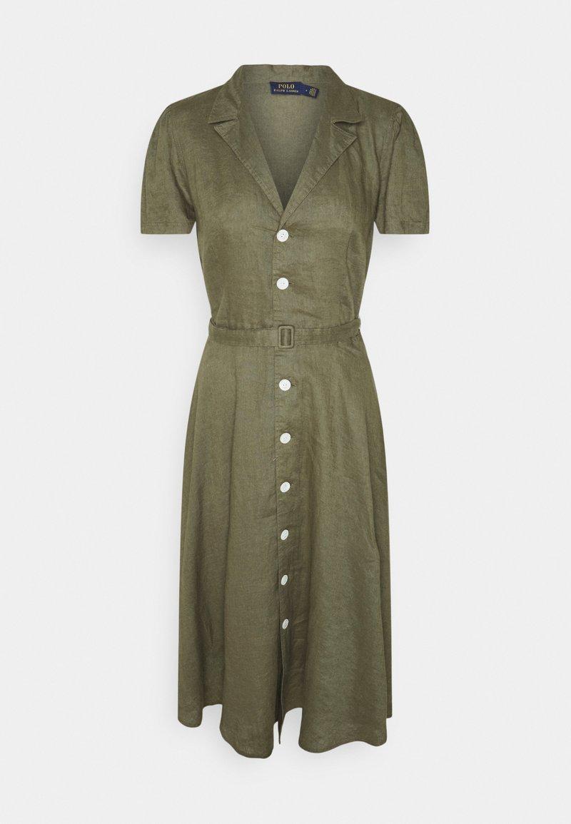 Polo Ralph Lauren - Sukienka koszulowa - basic olive