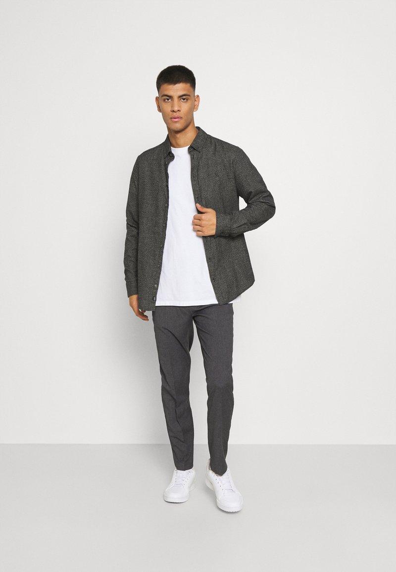 Burton Menswear London - SLIM 2 PACK - Kangashousut - navy
