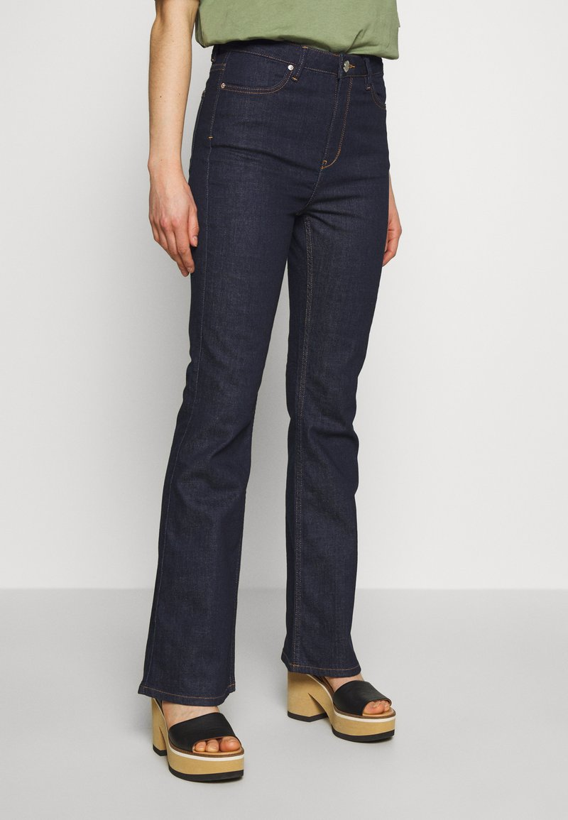 2nd Day - FIONA - Bootcut jeans - dark blue
