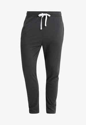 Pyjama bottoms - grey dark solid