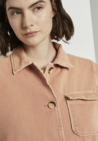 TOM TAILOR DENIM - Giacca di jeans - washed coral - 3