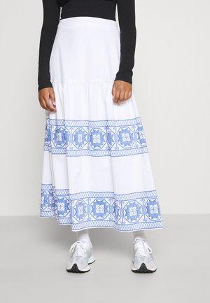 Długa spódnica - white