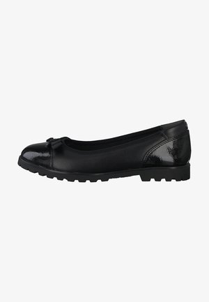 Ballet pumps - BLACK LEATHER