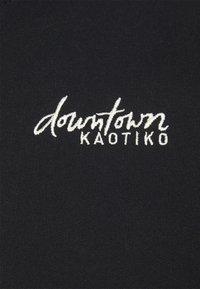 Kaotiko - CREW BARNETT - Zip-up hoodie - negra - 2