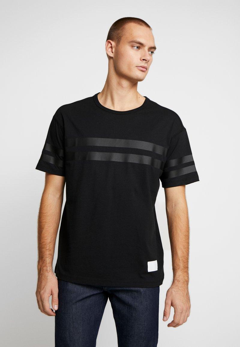 Replay Sportlab - T-shirt con stampa - black