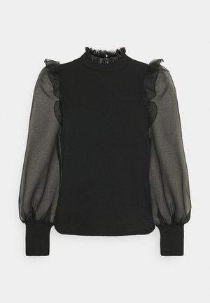 VMJANA - Long sleeved top - black