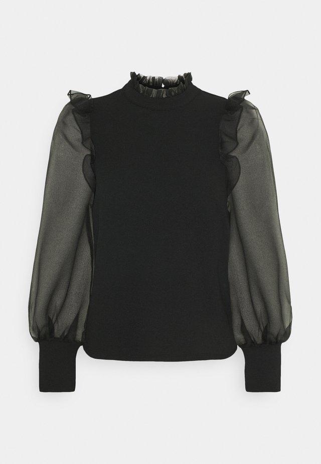 VMJANA - Bluzka z długim rękawem - black