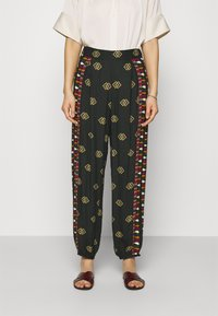 Farm Rio - GRAPHIC SHINE PANTS - Kalhoty - multi - 0