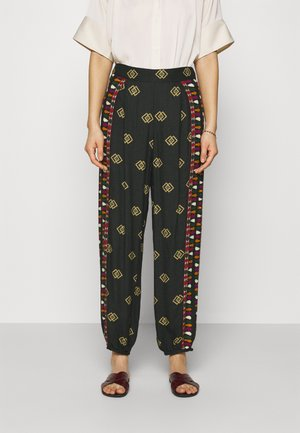 GRAPHIC SHINE PANTS - Trousers - multi