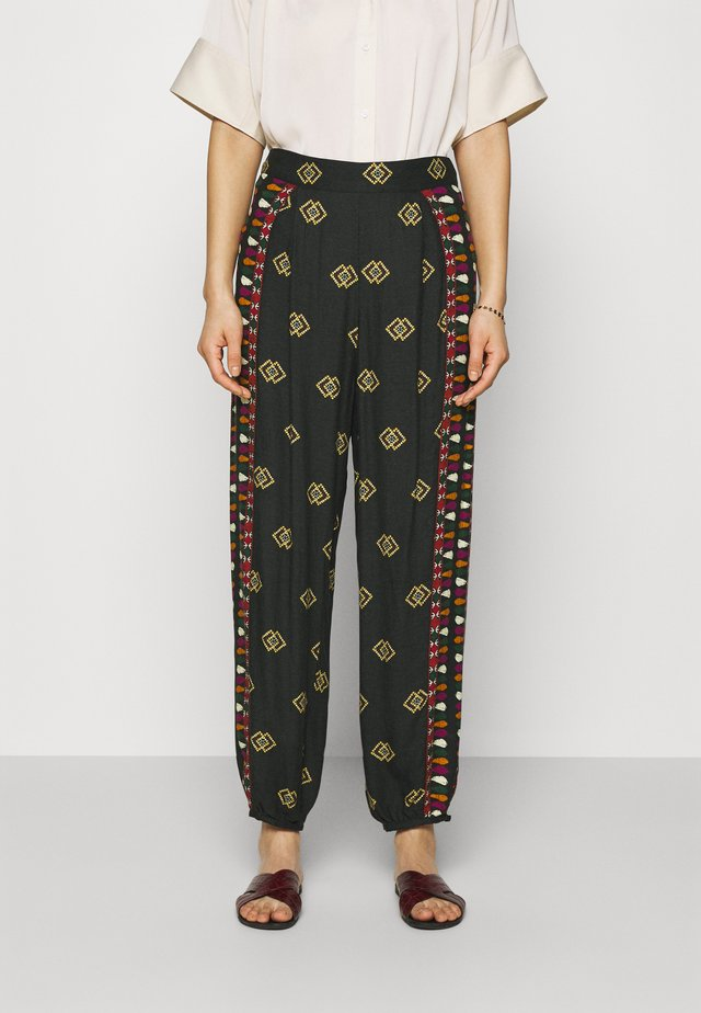 GRAPHIC SHINE PANTS - Broek - multi