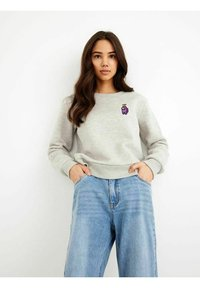 LMTD - HIGH WAIST - Slim fit jeans - light blue denim - 1
