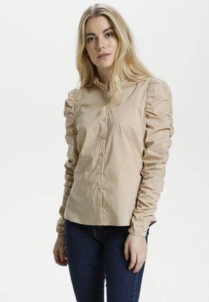 CUANTOINETT - Skjortebluser - sesame