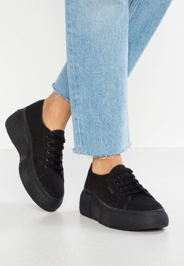 2287  - Trainers - total black